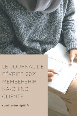 Camille-Davidp15 - journal 5 Membership Ka-Ching Clients v5