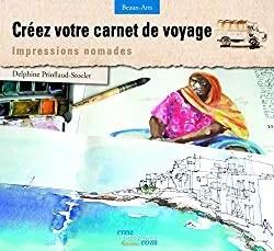 couverture du livre créez votre carnet de voyage