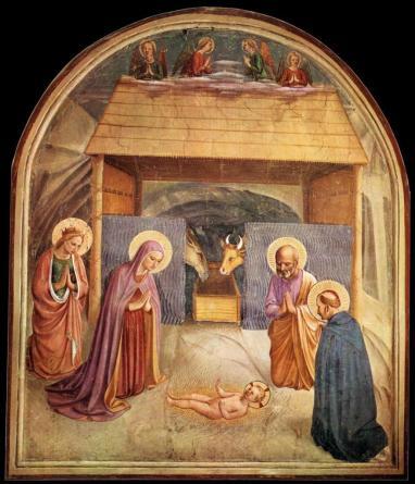 fra-angelico-fresques-de-san-marco-la-nativite-1440-41