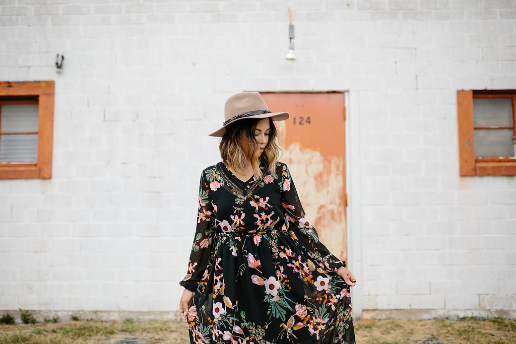 Say 'Yes' to the Floral Dress!