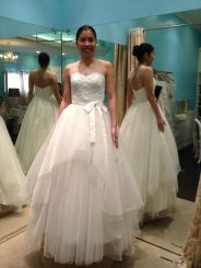 Camille Garcia Blushing Bride