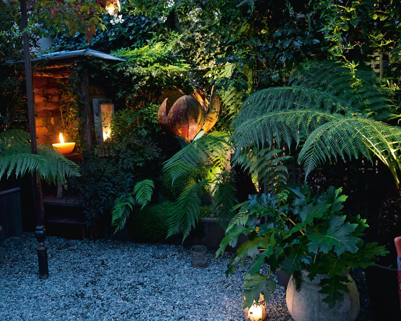 Terrasse romantique  Jardin  Camille Muller paysagiste