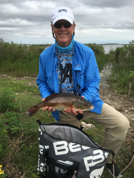 Greg with one of the slot reds.
