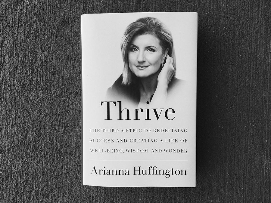 thrive book review huffington