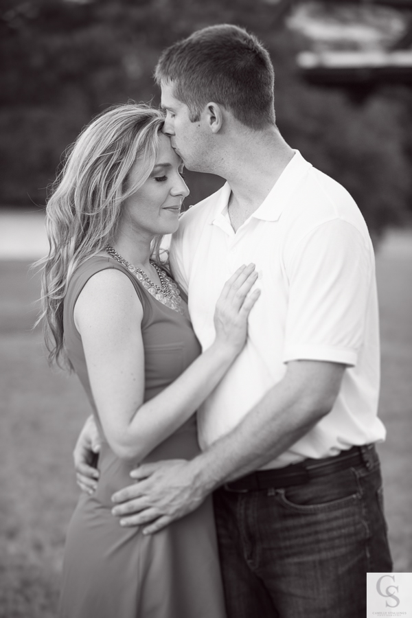 romantic engagement session austin