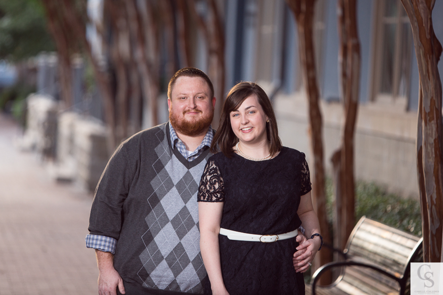 Modern Engagement Photographers Dallas