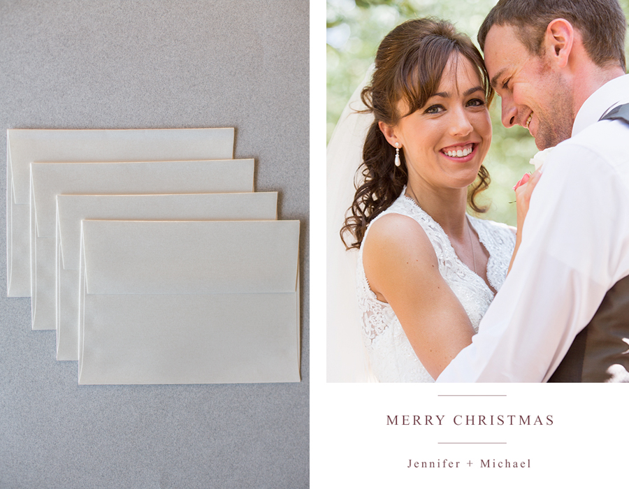 luxury christmas cards personalized
