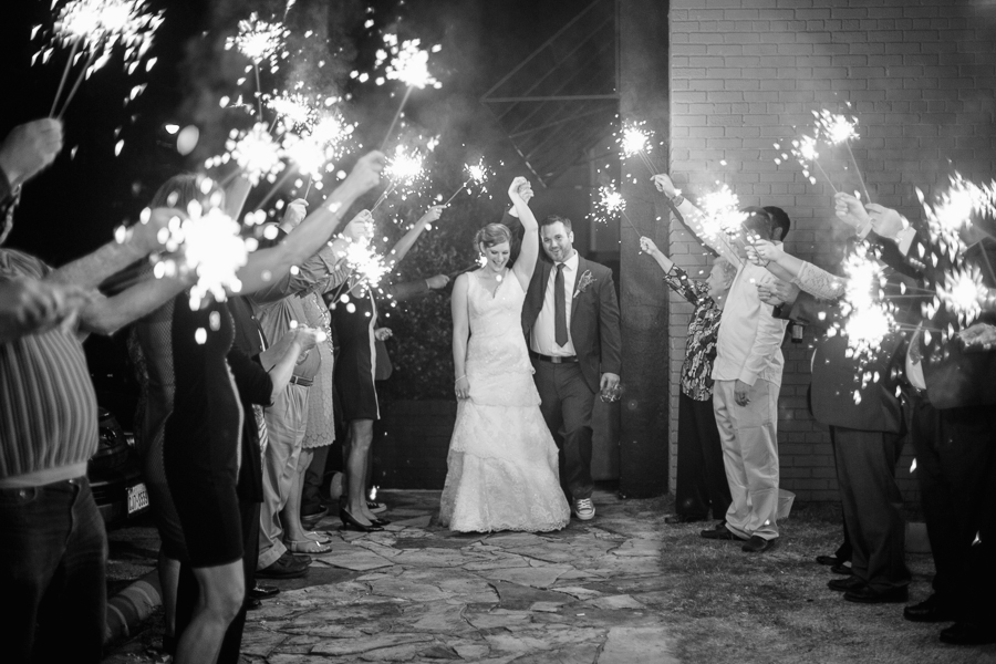 sparkler exit weddings