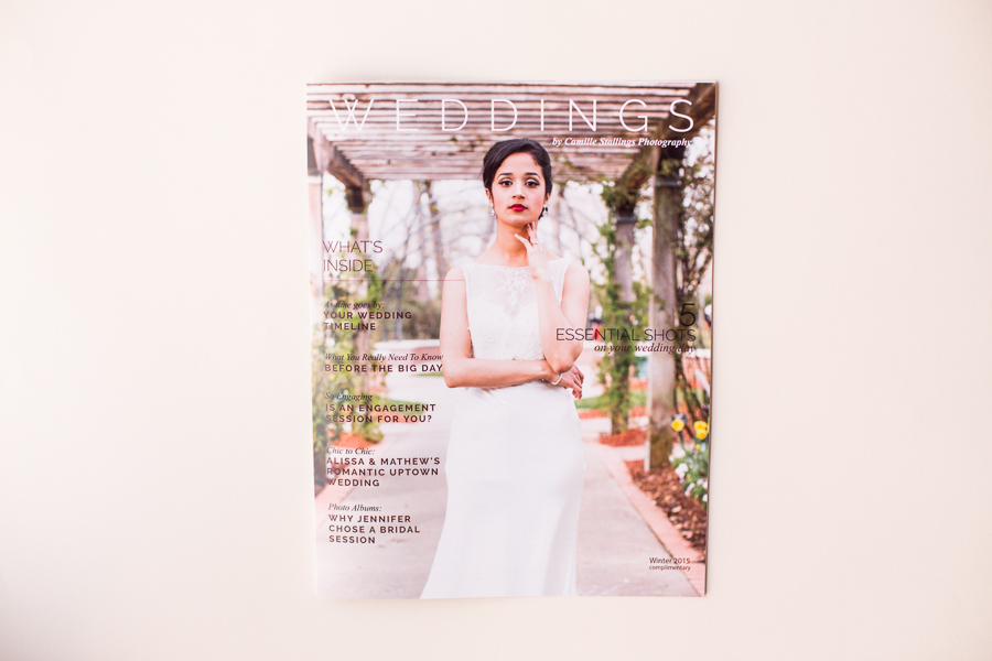 Camille Stallings Wedding Magazine