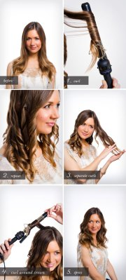 pretty simple beachy waves