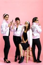 pink ladies costume - camille styles