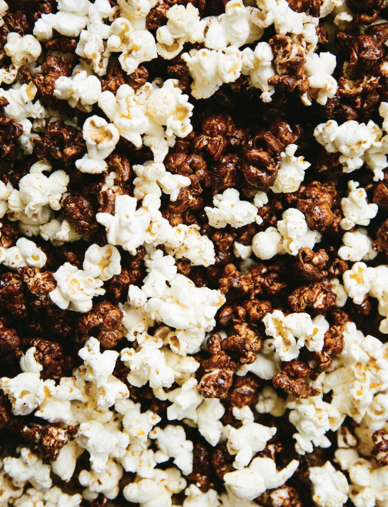 Black And White Popcorn - Camille Styles