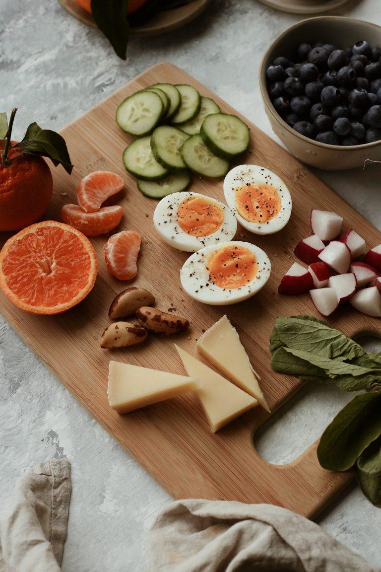 easy morning breakfast board