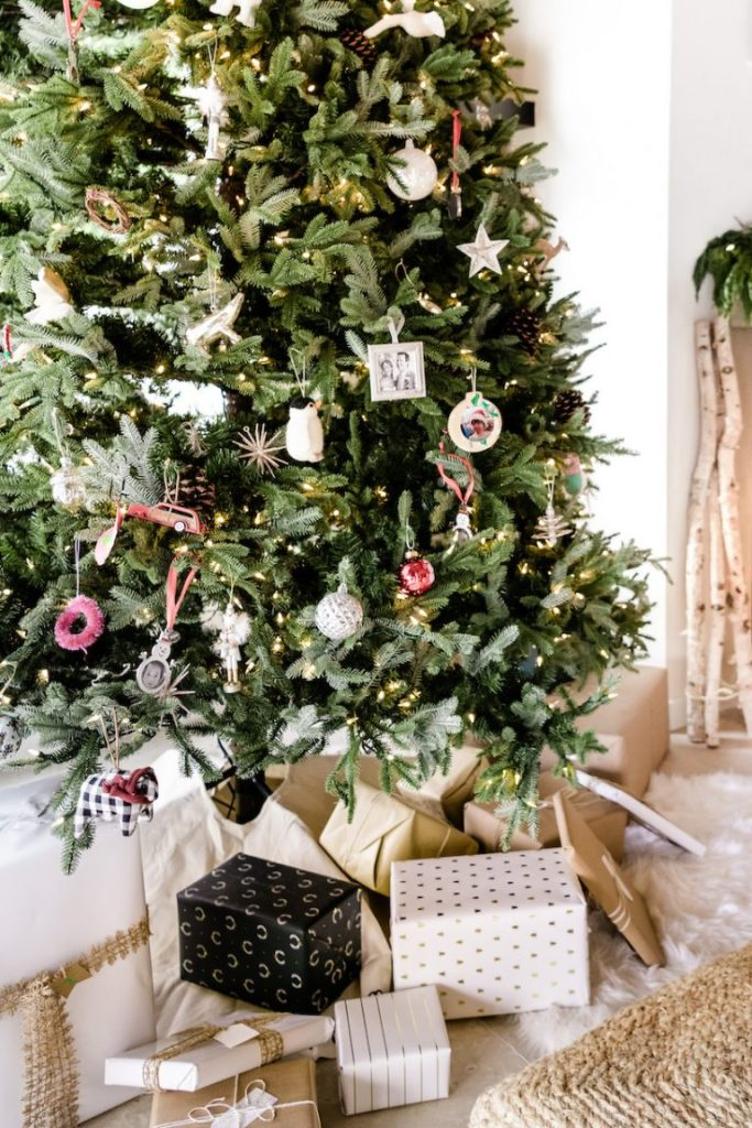 camille styles christmas tree woodsy natural