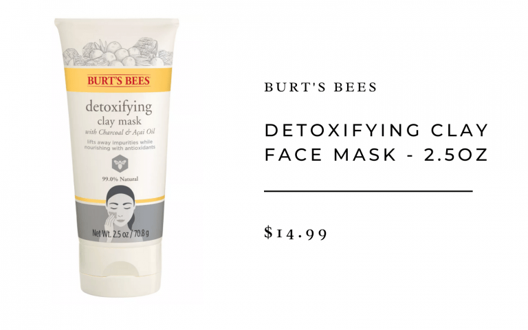 Burt's Bees Detoxifying Clay Mask