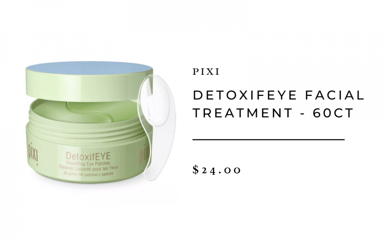 Pixi DetoxifEYE Facial Treatment - 60ct