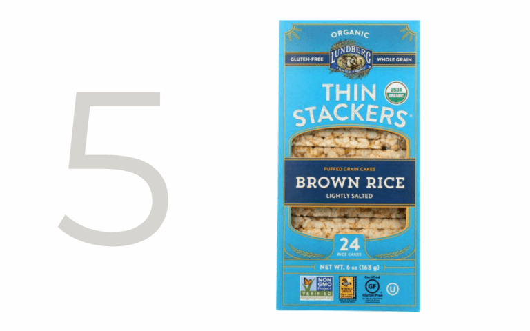 thin stackers rice cakes