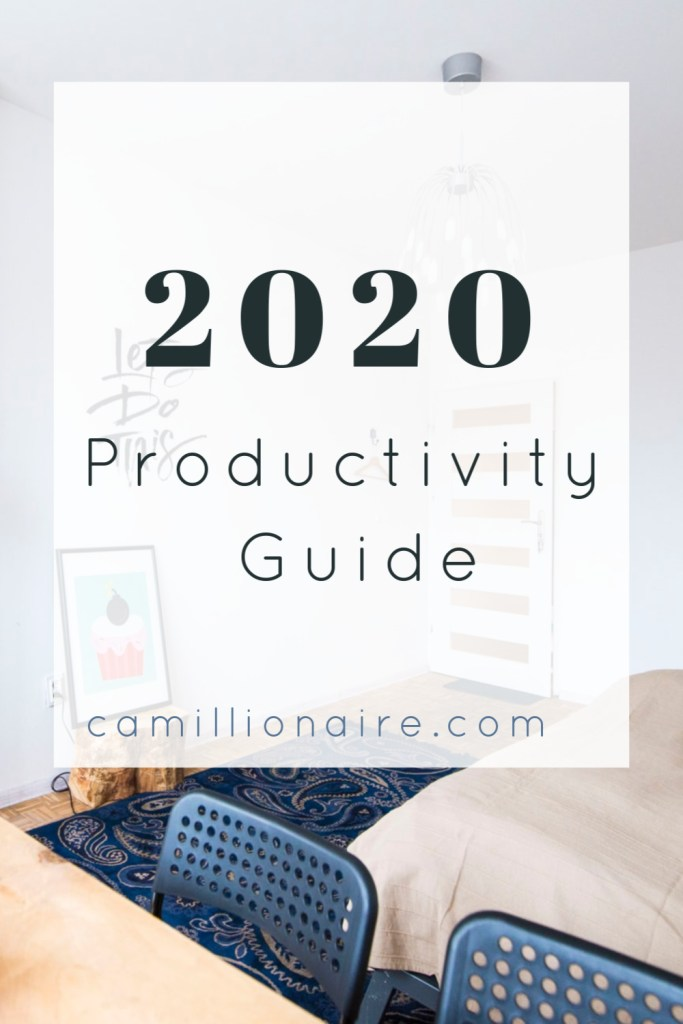 2020 Productivity guide - office scene