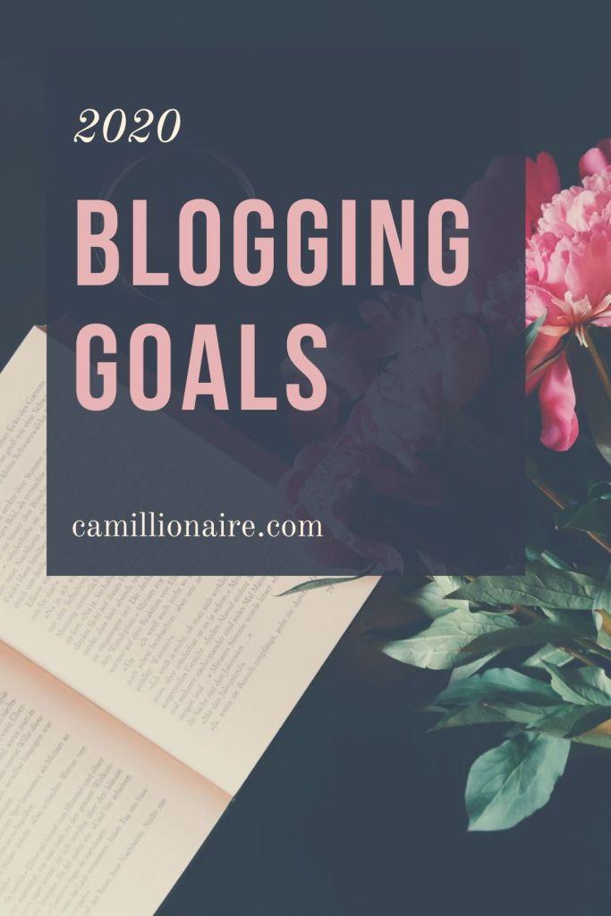 2020 Blogging Goals