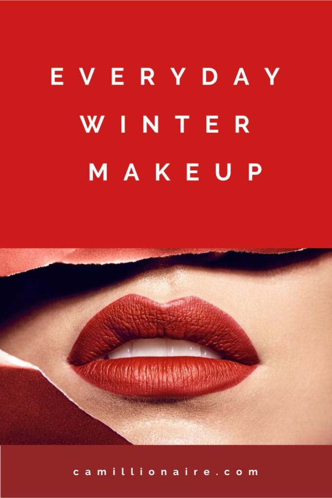Everyday winter makeup