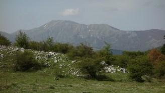 En direction des monts du Matese