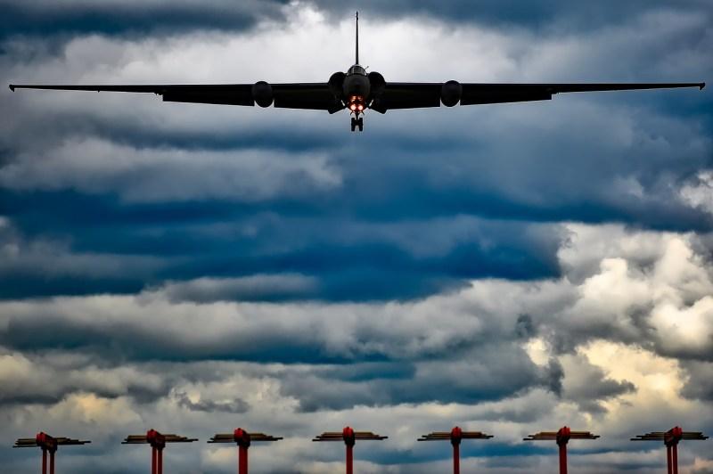 El avión espia de los EE.UU, el U2