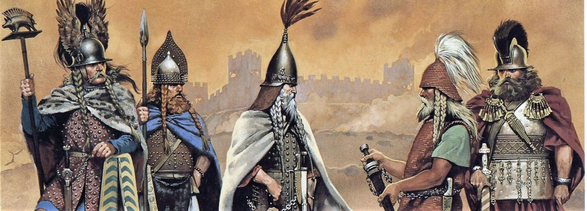 Los pueblos bárbaros que acabaron con el Imperio Romano tenían un nombre