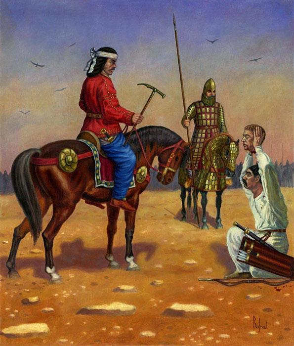 Batalla de Carras, Dariusz Bufnal