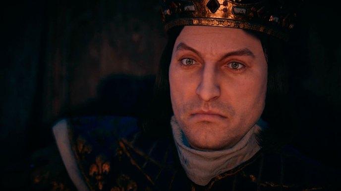 Recreación animada de Felipe IV de Francia