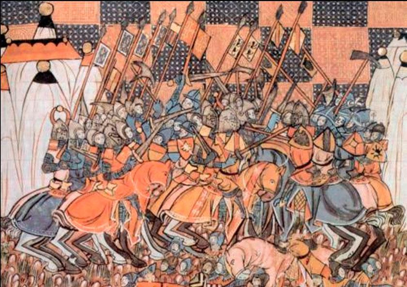 Batalla de Dorylaeum duranrte el asedio a Nicea.
