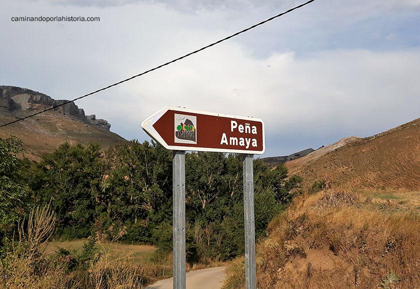 La subida a Paña Amaya, perfectamente bien indicada