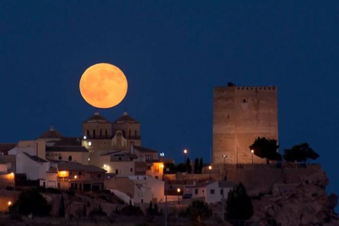 En Aledo (Murcia), se conserva la antigua atalaya musulmana