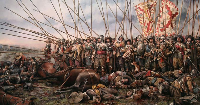 La guerra de los 80 años, la mayor pesadilla del Imperio Español.
