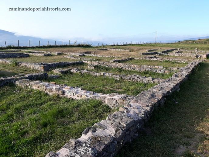 Restos de la mayor domus de Juliobriga