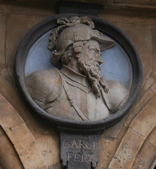 El Conde García Fernández en Salamanca