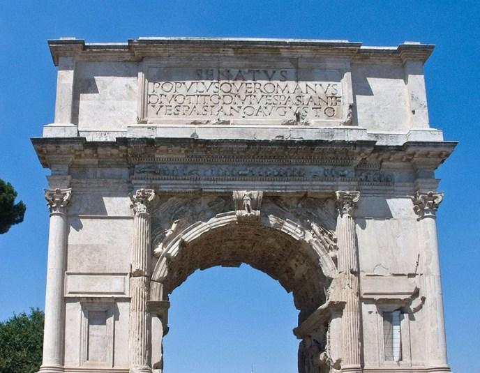 Arco de Tito en Roma