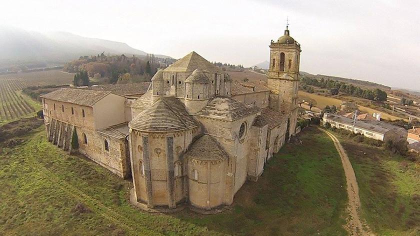 Monasterio de Irache en pleno Camino de Santiago