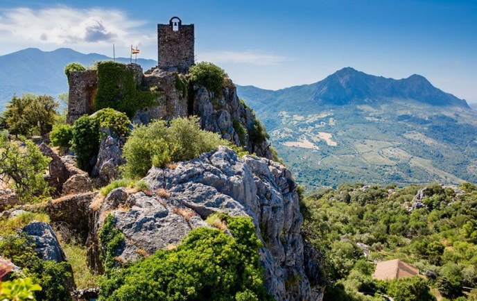 Castillo de Belda en Gaucín
