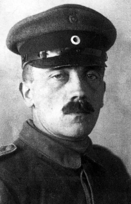Adolf Hitler durante la Gran Guerra.