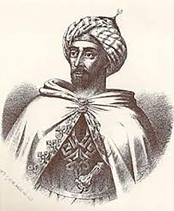 Hipotética imagen de Umar ben Hafsún, el señor de Bobastro