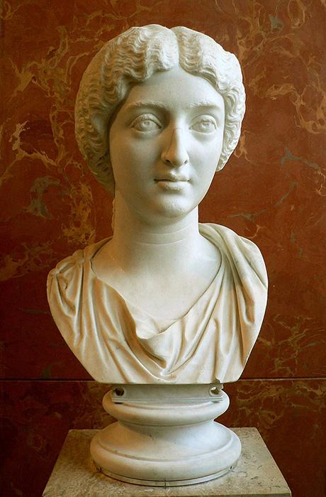 Faustina la Menor, esposa de Marco Aurelio.