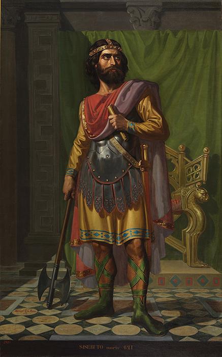 Sisebuto, cuadro del Museo del Prado