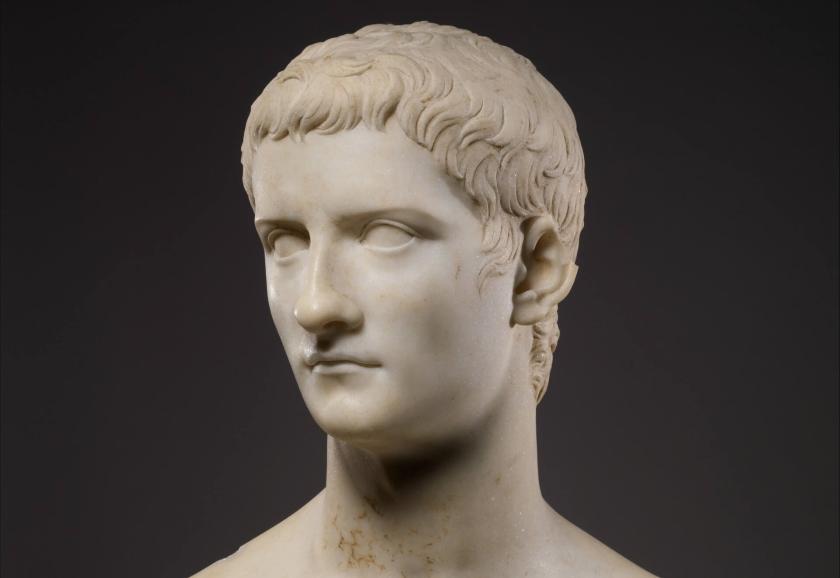 Calígula, hermano de Agripina.