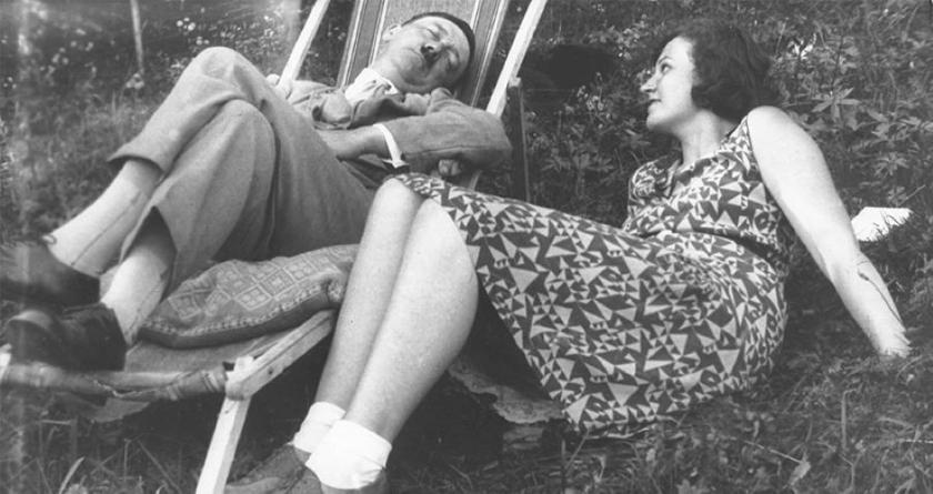 Hitler y Geli Ruibal