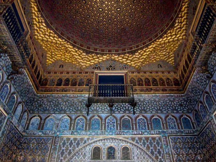Salón de los embajadores en el Alcázar de Sevilla