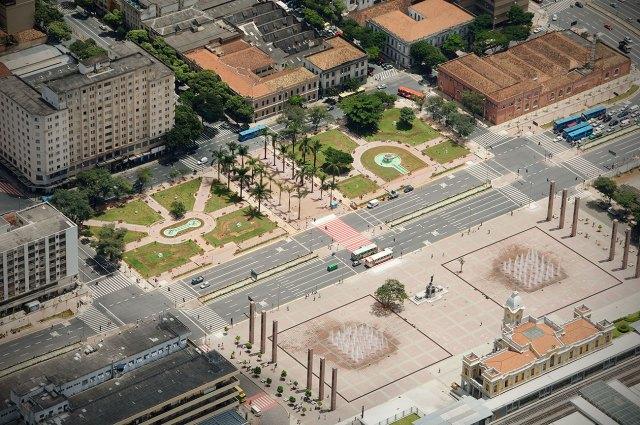 praça da estação imagem aerea com centro cult ufmg e estaçao 104 direto site belarq