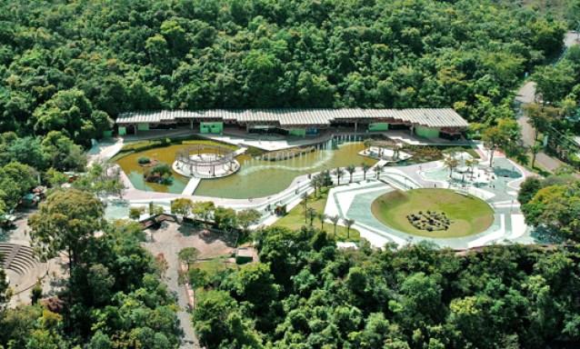 Parque das Mangabeiras visto do alto