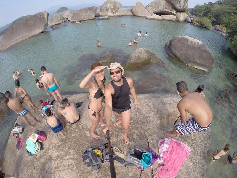 Amigos e amizades eternas 10 - Amigos pra vida toda, Bruno, Beth e Daniel.