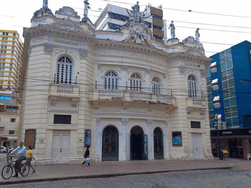 Centro Histórico de Vitória a Capital do Espirito Santo.