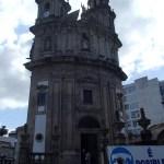 Sanktuarium der Virxe Peregrina in Pontevedra.